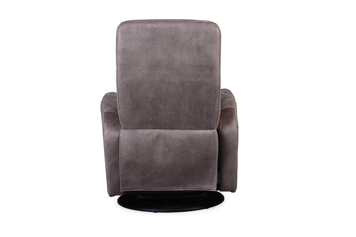 Myers Swivel Recliner Armchair Brown