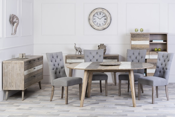 Havana Round Extending Dining Table Michael Murphy Home Furnishing