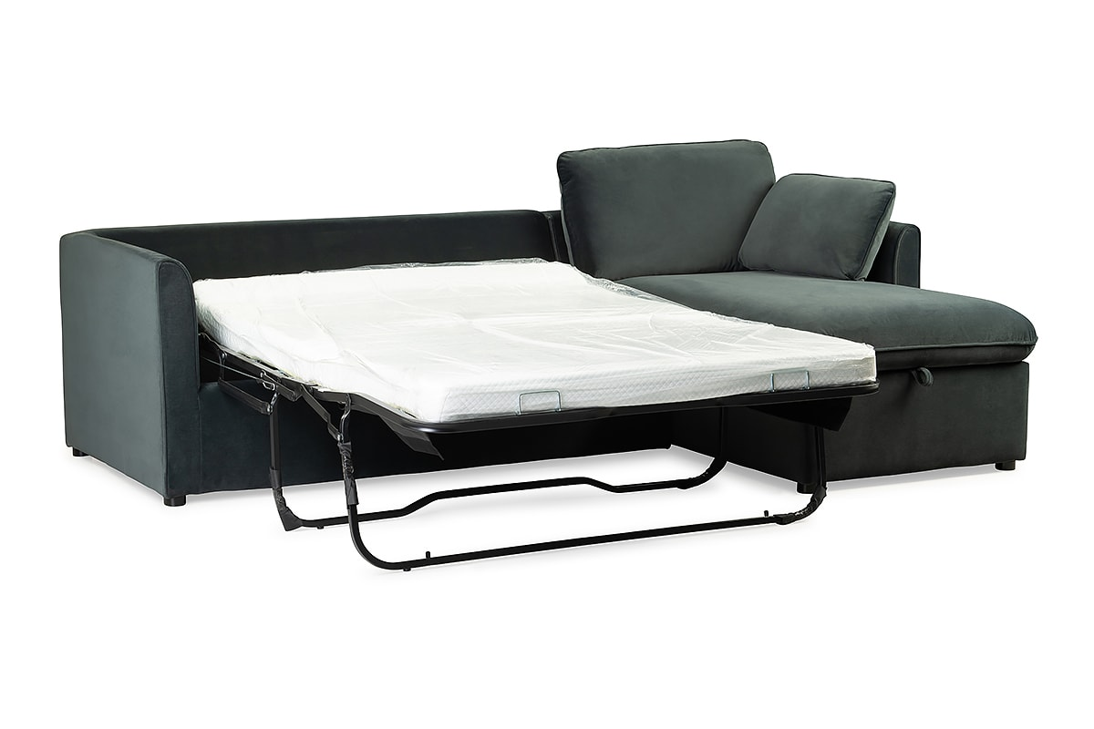 - Macy Sofa Bed With Chaise RHF – Michael Murphy Home Furnishing